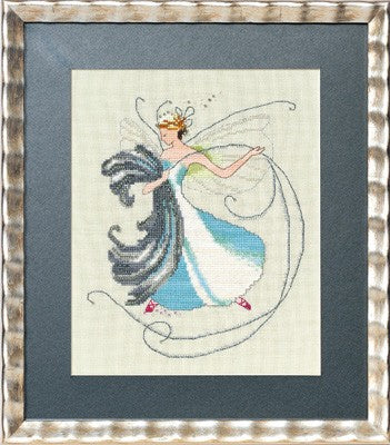 Nora Corbett Stitching Fairies Floss Fairy cross stitch pattern