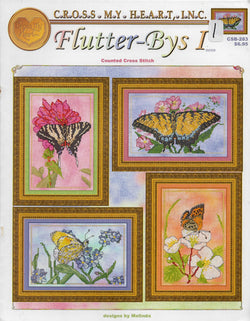 Cross My Heart Flutter-bys I Butterfly cross stitch pattern