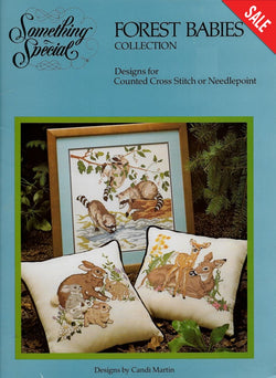 Candamar Something Special Forest Babies cross stitch pattern