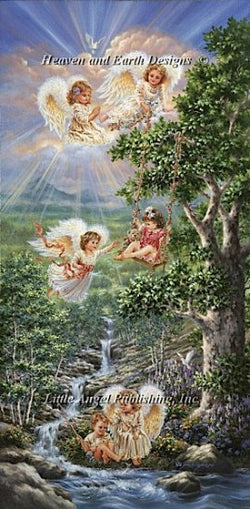 Heaven and Earth Designs Fountain of Hope Dona Gelsinger cross stitch pattern