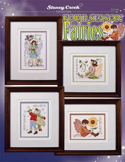 Stoney Creek Four seasons fairies BK461 cross stitch pattern