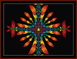 Cross Stitch Collectibles Fractal 126 cross stitch pattern