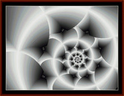 Cross Stitch Collectibles Fractal 196 cross stitch pattern