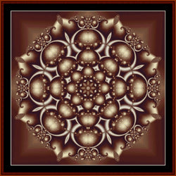 Cross Stitch Collectibles Fractal 229 cross stitch patter3