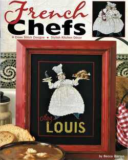 Leisure Arts French Chefs 3966 cross stitch pattern