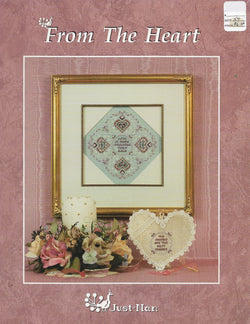 Just Nan From the Heart cross stitch pattern