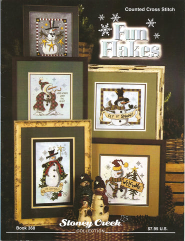 Stoney Creek Fun flakes cross stitch booklet