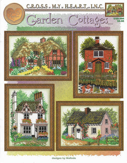 Cross My Heart Garden Cottages CSB-284 cross stitch pattern