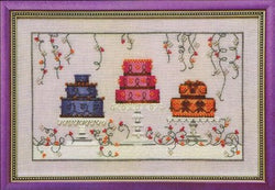 Mirabilia Garden Party Cakes NC182 victorian cross stitch