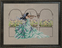 Mirabilia Garden Prelude MD165 cross stitch pattern