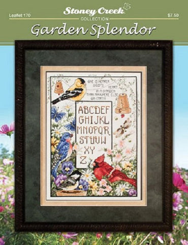 Stoney Creek Garden Splendor LFT170 cross stitch booklet