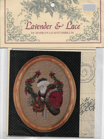 Lavender & Lace Gift of Peace L&L6 Christmas Cross stitch pattern