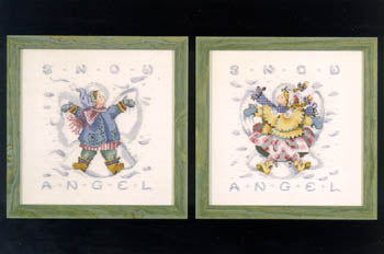 Mirabilia Giggles in the snow MD31 Christmas victorian cross stitch
