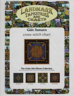 Landmark Gilt Saturn asian cross stitch pattern