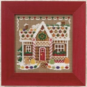 Mill Hill Gingerbread House (2010) beaded cross stitch kit
