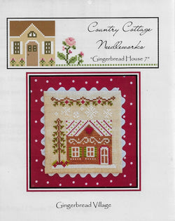 Country Cottage Needleworks Gingerbread House 7 Village cross stitch pattern