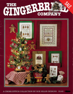 Sue Hillis The Gingerbread Company christmas cross stitch pattern