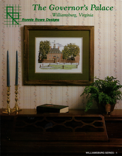 Ronnie Rowe Designs Governors Palace cross stitch pattern
