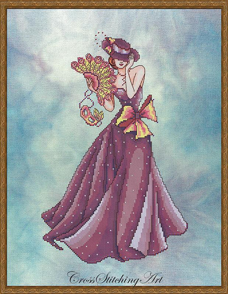 Cross Stitching Art Grace fashion fantasy cross stitch pattern
