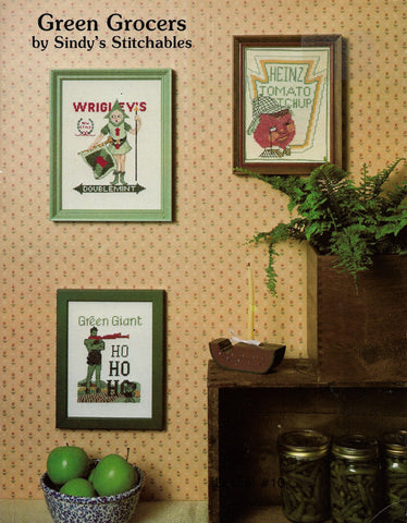 Sindy's Stitchables Green Grocer cross stitch pattern