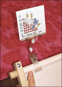 Graph Gripper Pattern Holder cross stitch