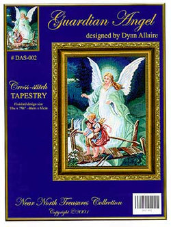 Kustom Krafts Guardian Angel DAS-002 cross stitch pattern