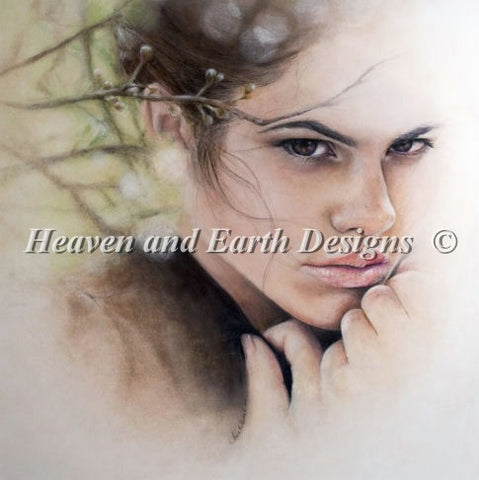 Heaven and Earth designs Laura by Bec Winnel cross stitch pattern