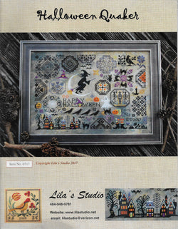 Lila's Studio Halloween Quaker 0717 cross stitch pattern