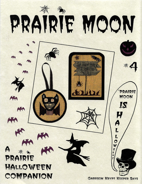 Prairie Moon A Prairie Halloween Companion 4 cross stitch pattern