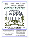 Cross Stitch Wonders Carolyn Manning Happy Little Camper Cross stitch pattern