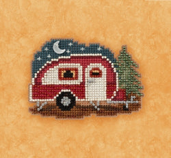 Mill Hill Happy Camper beaded kit