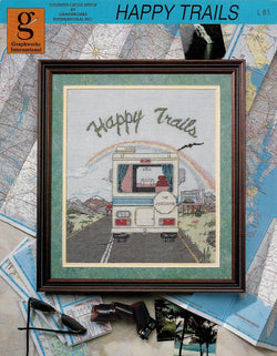 Graphworks International Happy Trails RV Camper cross stitch pattern