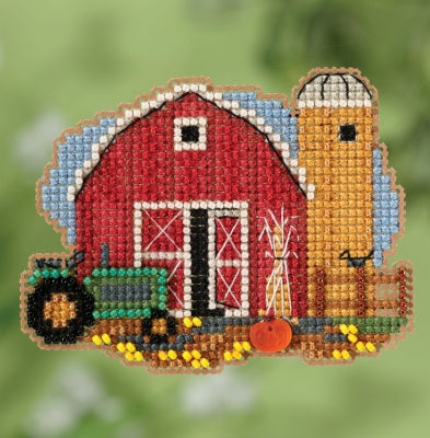 Mill Hill Harvest Barn beaded kit