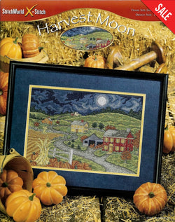 Stitch X-Word Harvest Moon farm cross stitch pattern