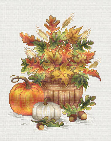 Sue Hillis Harvest Time L482 cross stitch pattern