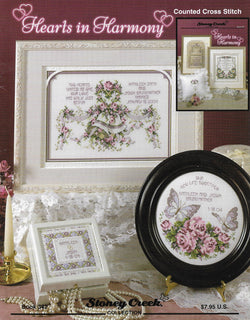 Stoney Creek Hearts in Harmony BK342 cross stitch pattern
