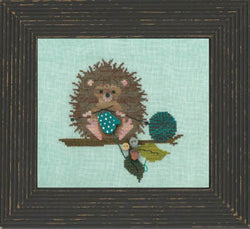 Just another button company woodland whimsy hedgehog cross stitch
