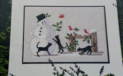 Diane Graebner Hello Mr. Snowman DGX-054 cross stitch pattern