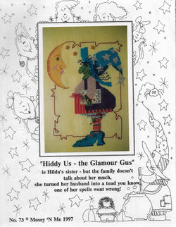 Mosey 'n Me Hiddy Us - the Glamour Gus cross stitch pattern