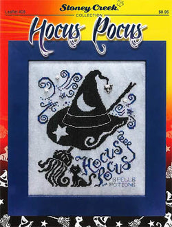 Stoney Creek Hocus Pocus LFT408 halloween cross stitch booklet