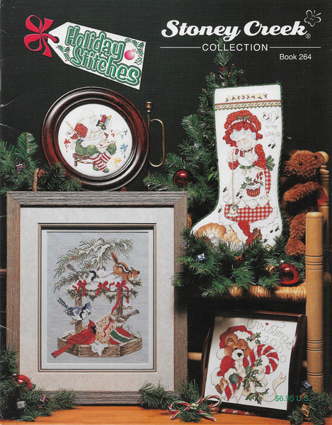 Stoney Creek Holiday Stitches BK264 cross stitch pattern