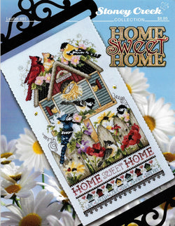 Stoney Creek Home sweet homw LFT485 cross stitch pattern