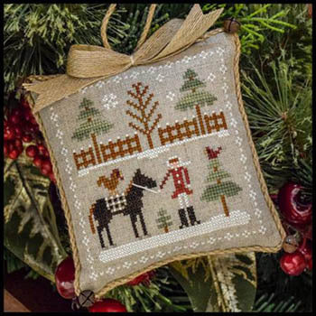Little House Needleworks Horsin' Around Farmhouse Series #2 cross stitch pattern