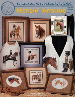 Cross My Heart Horsin' Around cross stitch pattern