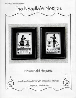 Needle's Notion Household Helpers NN160 cross stitch pattern