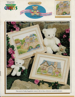 Color Charts Teddy Hugglesbie cross stitch pattern