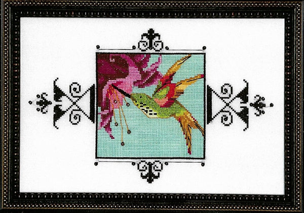 Nora Corbett Hummingbird NC175 cross stitch pattern