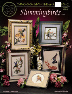 Cross My Heart Hummingbirds cross stitch pattern