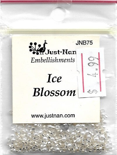 Just Nan Ice Blossom JNB75 embellishment pack