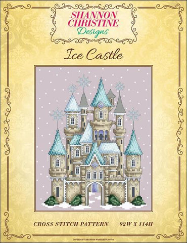 Shannon Christine Designs Ice Castle cross stitch pattern